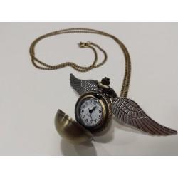 Reloj de Bolsillo Snitch Dorada