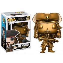 Funko Pop Jack Sparrow Dorado