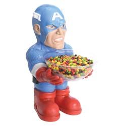 Portacaramelos Capitán América