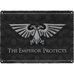 Chapa Metálica Warhammer Emperor