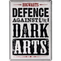 Chapa Metálica Harry Potter Dark Arts