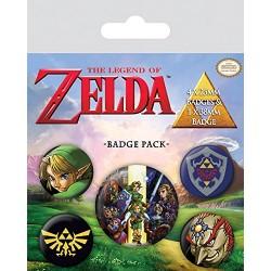 Pack Chapas The Legend of Zelda