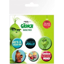 Pack Chapas El Grinch 2018