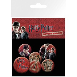 Pack Chapas HP Harry Potter Icons
