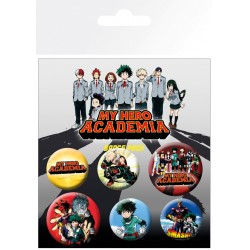 Pack Chapas My Hero Academia