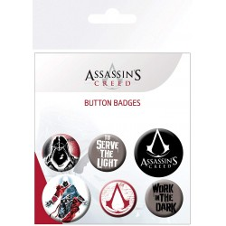 Pack Chapas Assassin's Creed