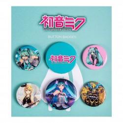 Pack Chapas Hatsune Miku