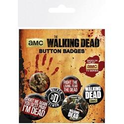 Pack Chapas Walking Dead