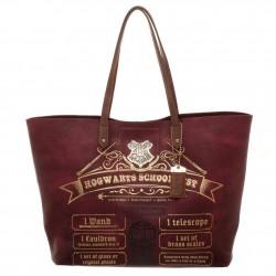 Bolso HP Lista Hogwarts 49cm