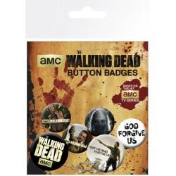 Pack Chapas Walking Dead 2