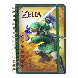 Libreta Zelda 3D