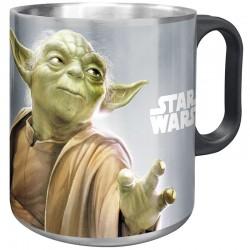 Taza SW Yoda Acero