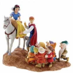 Figura (Escena) - Blancanieves, el príncipe y los siete enanitos (Joyful Farewell)