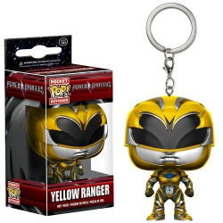 F Pop Llavero Yellow Ranger