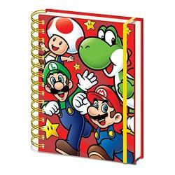 Cuaderno A5 Super Mario Bros