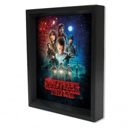 Cuadro 3D Stranger Things Cartel