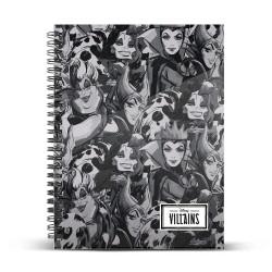 Cuaderno A5 Villanas Disney