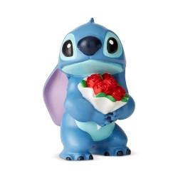 Figura - Disney - Stitch con Ramo de Flores