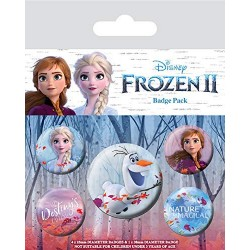 Pack Chapas Frozen 2