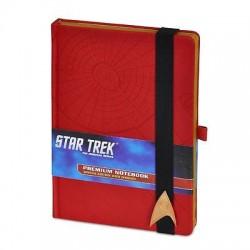 Cuaderno A5 Star Trek Rojo
