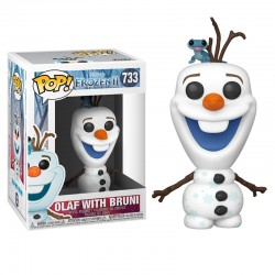 Pop Frozen 2 Olaf y Bruni 733