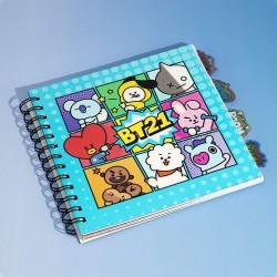 Cuaderno BT21