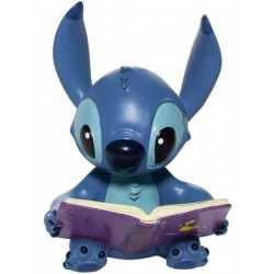 Figura Stitch Con Libro