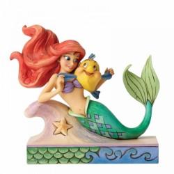 Figura Ariel Y Flounder