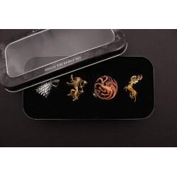 Pack 4 Pins - Juego de Tronos
