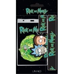 Llavero Rick y Morty + Cinta