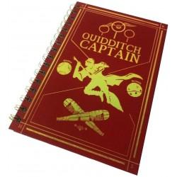 Cuaderno A5 HP Quidditch