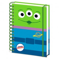 Cuaderno TS Alien