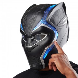 Casco Electronico Black Panther