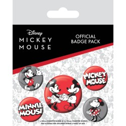 pack Chapas Mickey Mouse
