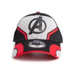 Gorra Avengers Roja-Negra