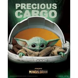 Cuadro 3D El Mandaloriano - El Niño Precious