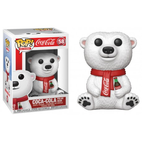 Funko Pop! Oso Coca-Cola (58) - Icons
