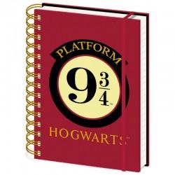 Cuaderno A5 HP Plataforma 9 3/4