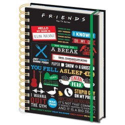 Cuaderno A5 Friends Momentos