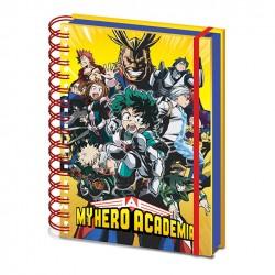 Cuaderno A5 My Hero Academi