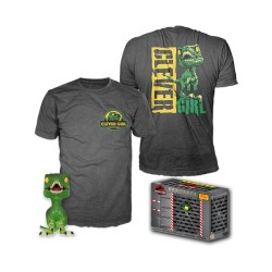 Pop+Camiseta Jurassic Raptor