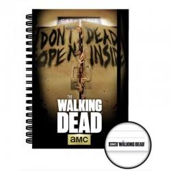 Cuaderno Walking Dead Inside