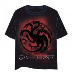 Camiseta GOT Escudo Rojo