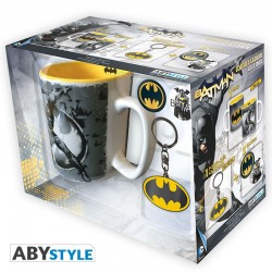 Pack Taza + Llavero Batman