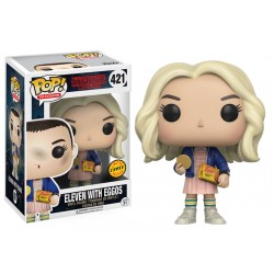 Funko Pop! Stranger Things - Eleven con Eggos (Chase) (421)