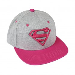 Gorra Superman Fucsia
