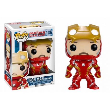 Funko Pop Iron Man 136