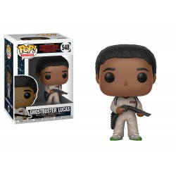 Funko Pop! Stranger Things - Lucas Cazafantasmas