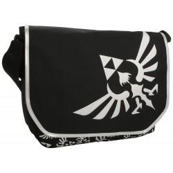 Bandolera Zelda Logo Gris