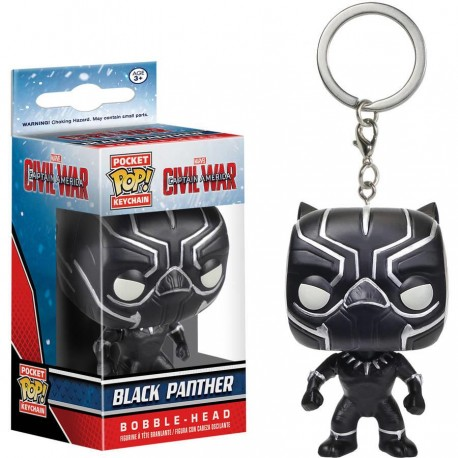 Llavero F Pop Black Panther